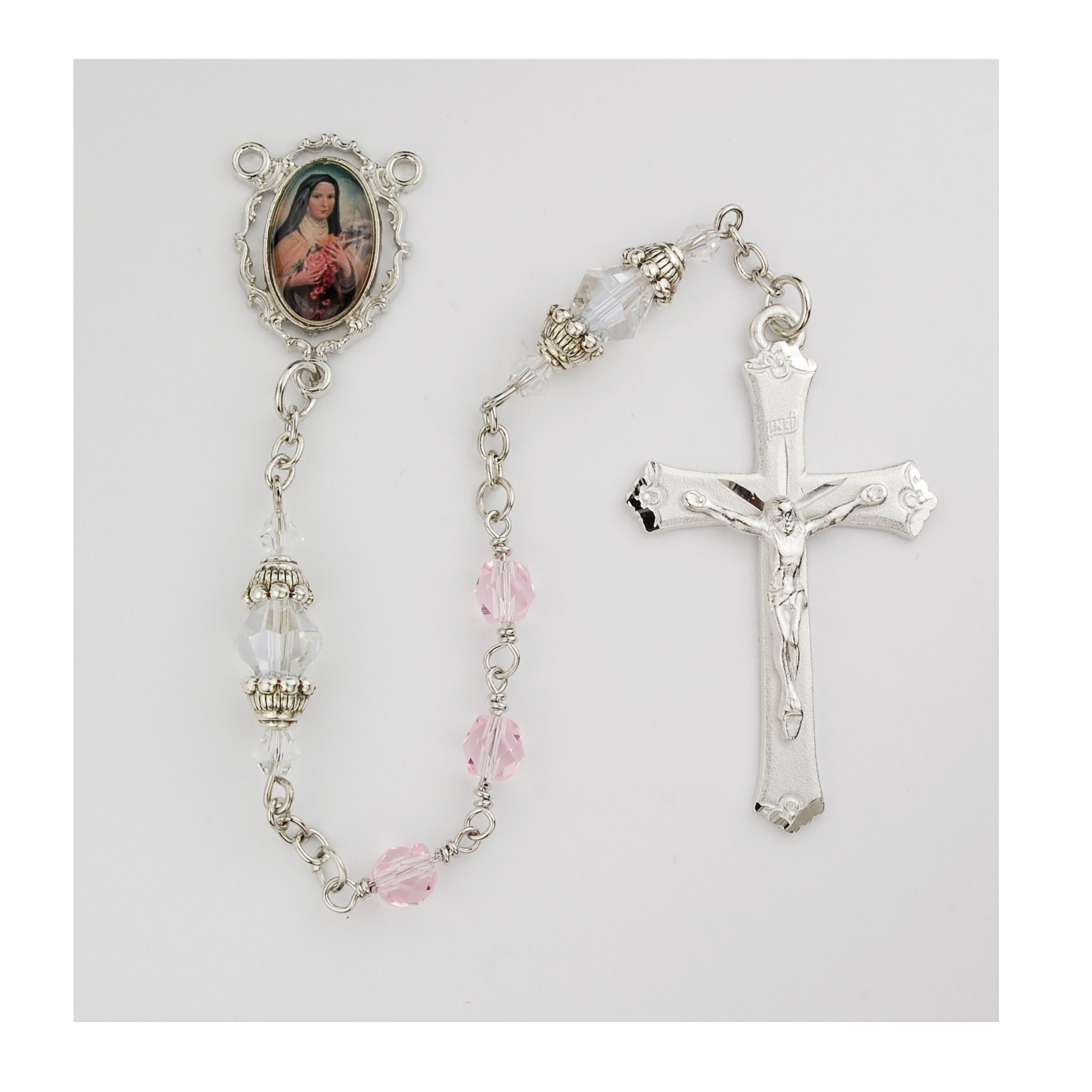 Therese Little Flower Rosary Boxed